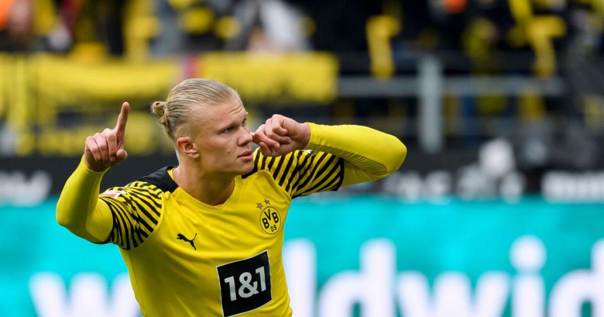 Vea el gol de Erling Haaland hoy, con Borussia Dortmund vs Mainz 05, en la Bundesliga | futbol-internacional | GolCaracol
