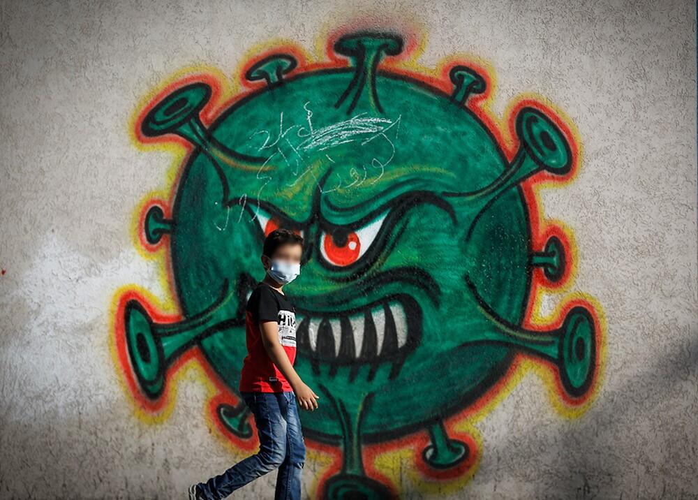 Pandemia COVID-19 // Foto: AFP, imagen de referencia