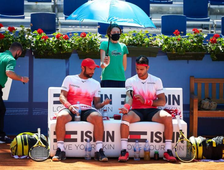 Juan Sebastián Cabal y Robert Farah fueron eliminados del Masters 1000 de Roma.