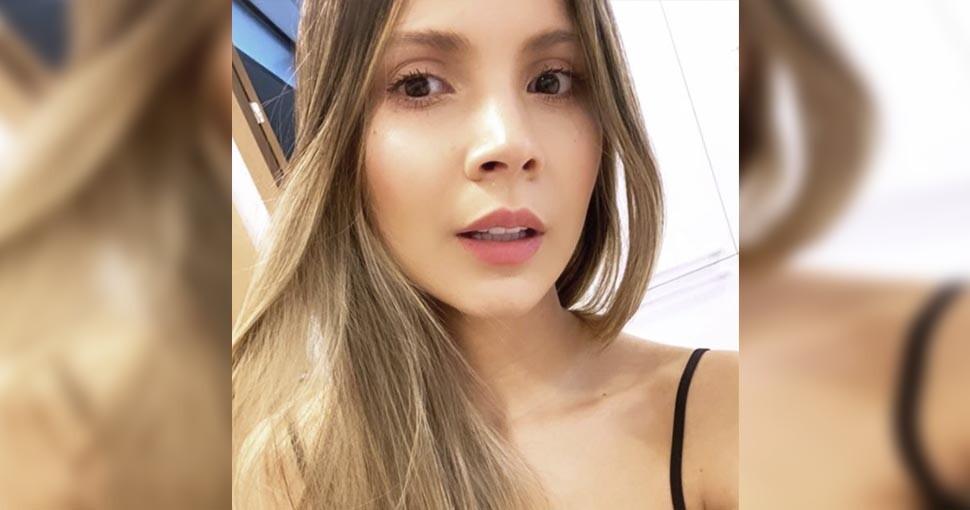Karin Jimenez la bella esposa de Santiago Arias