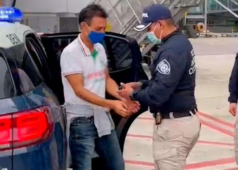 Extradición de alias 'El Zarco'