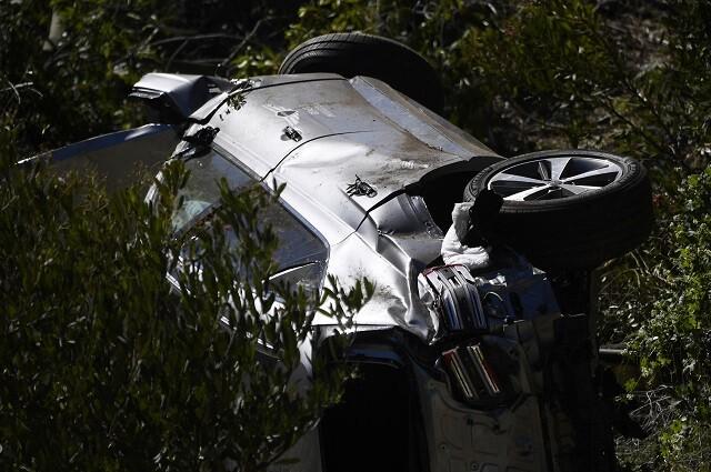 Tiger Woods sufrió un accidente el pasado 23 de febrero
