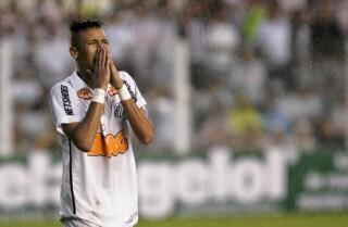 Neymar, exjugador de Santos
