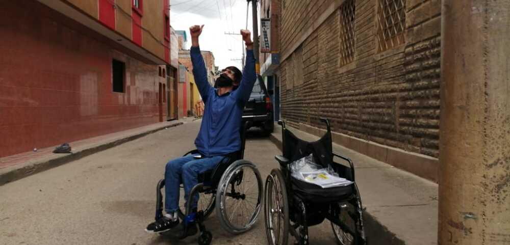 375568_La emotiva historia de un bogotano que despertó la solidaridad en medio de la pandemia - Foto BLU Radio