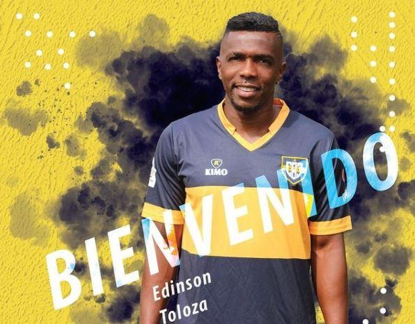 Edinson Toloza Boca Juniors 080321 Instagram E.JPG