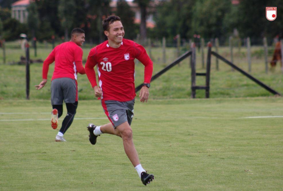 Luis Manuel Seijas, jugador de Santa Fe