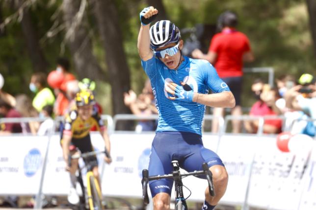 Miguel Ángel López estará en el Critérium del Dauphiné.