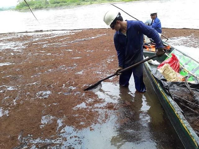 Derrame de petróleo en La Lizama