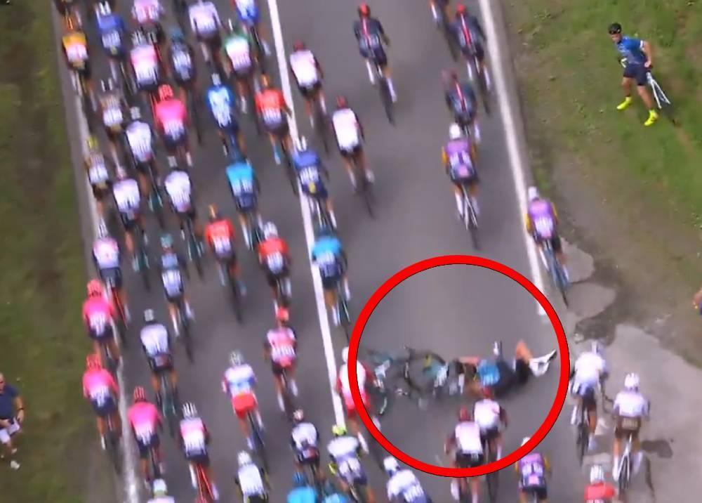 Segunda caída en la primera etapa del Tour de Francia 2021