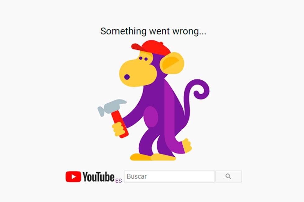 Google fallas a nivel mundial