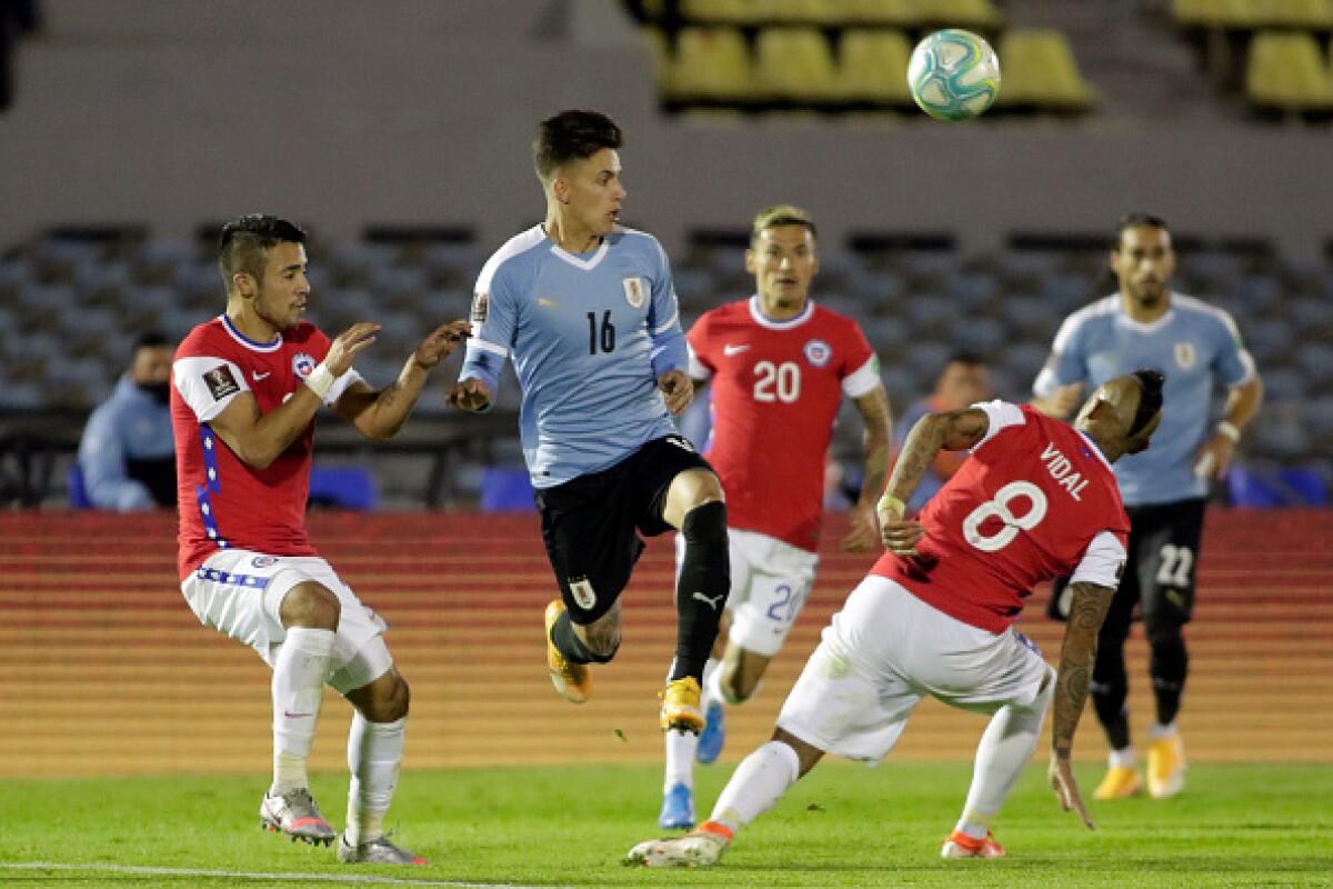 Uruguay 2 vs Chile 1 EN VIVO: los 'charrúas' vencieron al equipo de Reinaldo Rueda
