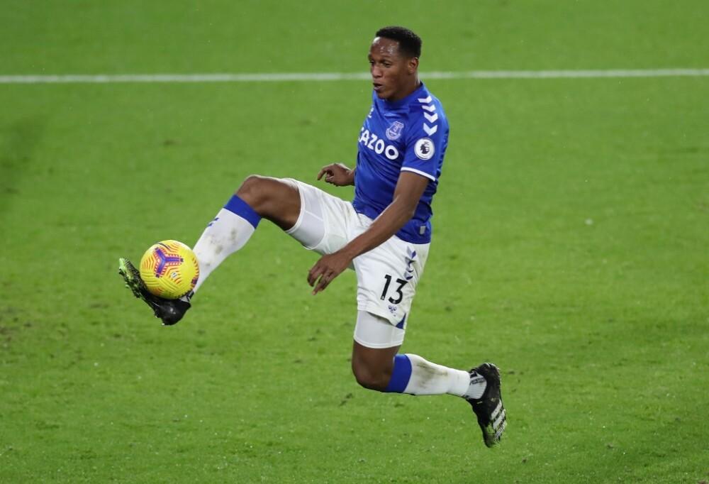 Yerry Mina, Everton vs Sheffield