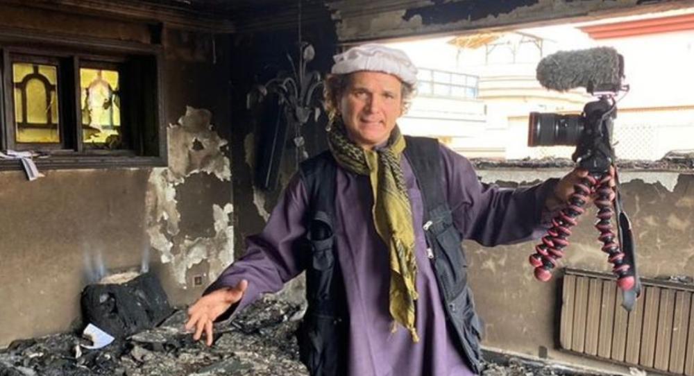 Jorge Said, periodista chileno en Afganistán