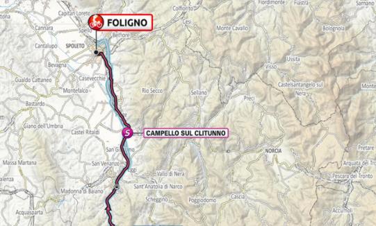 Así será la etapa 10 del Giro de Italia 2021.