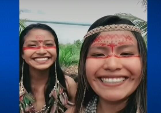 Del corazón de la selva, para el mundo: joven indígena muestra en TikTok las tradiciones de su tribu