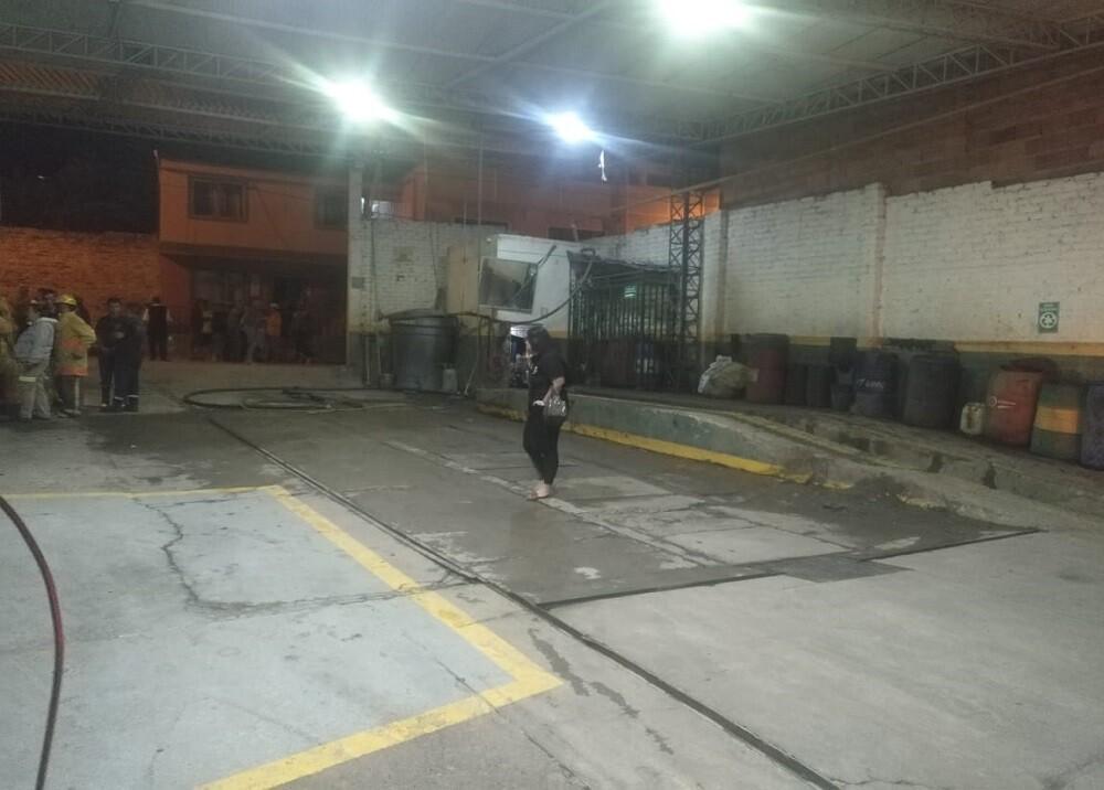 347342_BLU Radio. Explosión en estación de gasolina en Málaga / Foto: suministrada