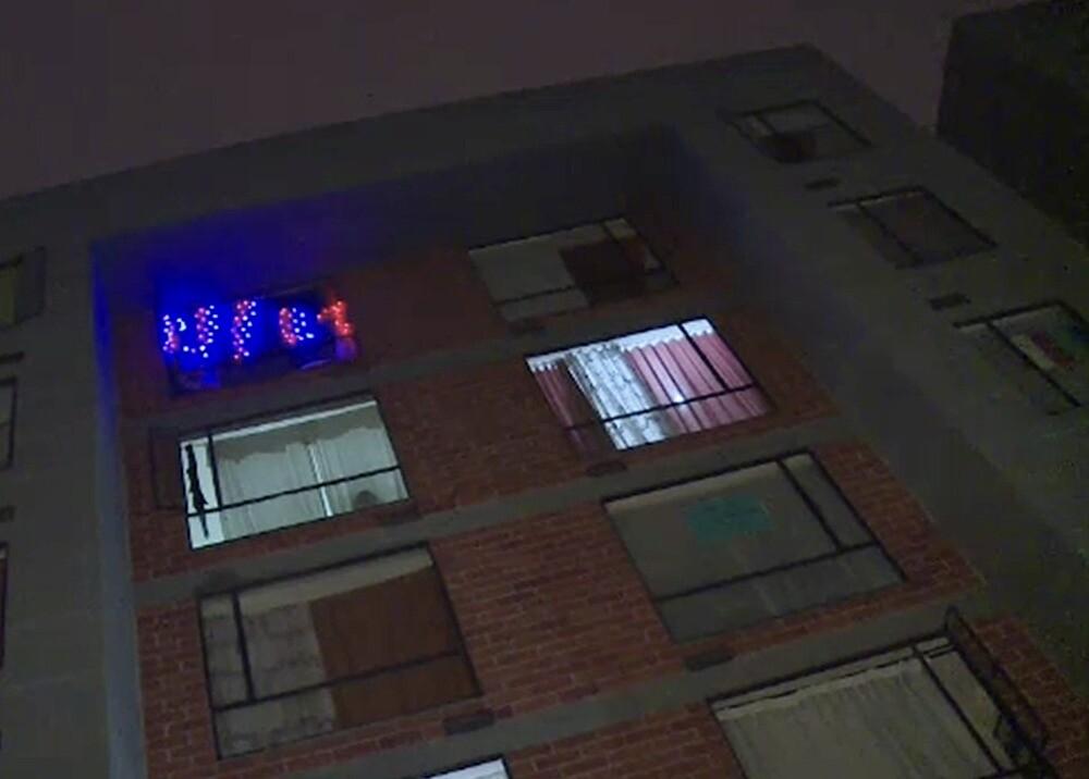 Mujer cayó desde un sexto piso en Soacha, acusan a la pareja : Foto: captura video cortesía Noticias Caracol.jpeg
