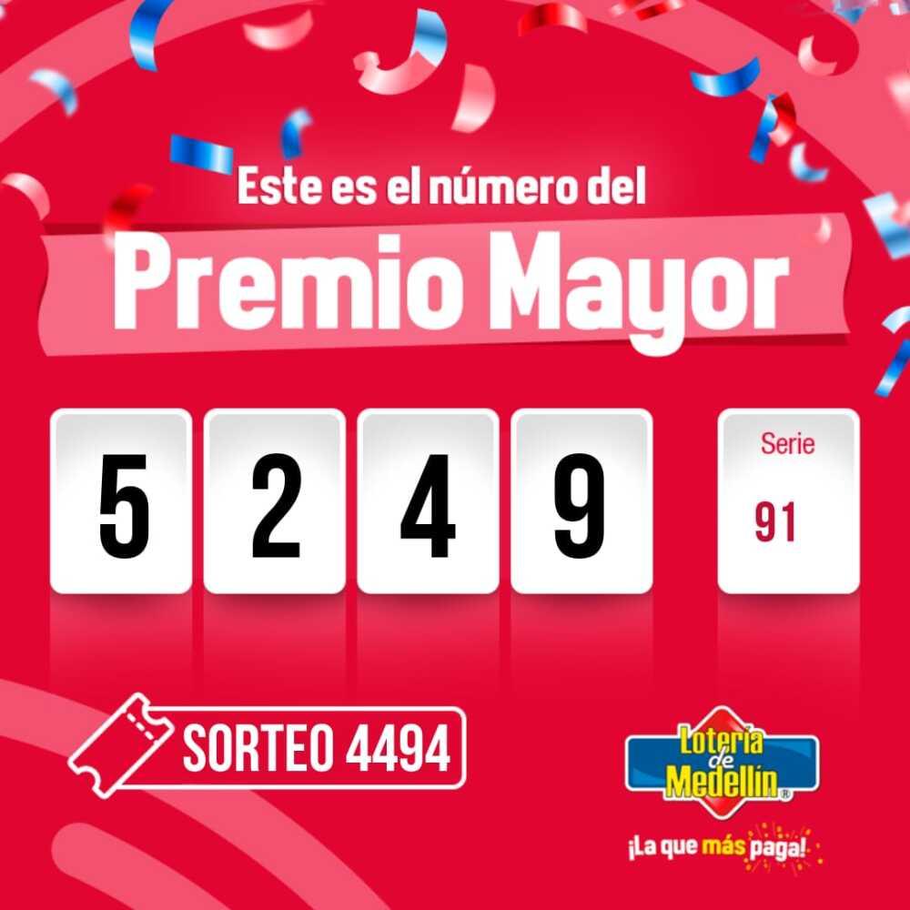 343672_BLU Radio // Ganador Lotería Medellín // Foto: Lotería de Medellín