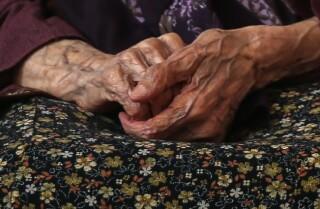 Anciana se recupera de coronavirus