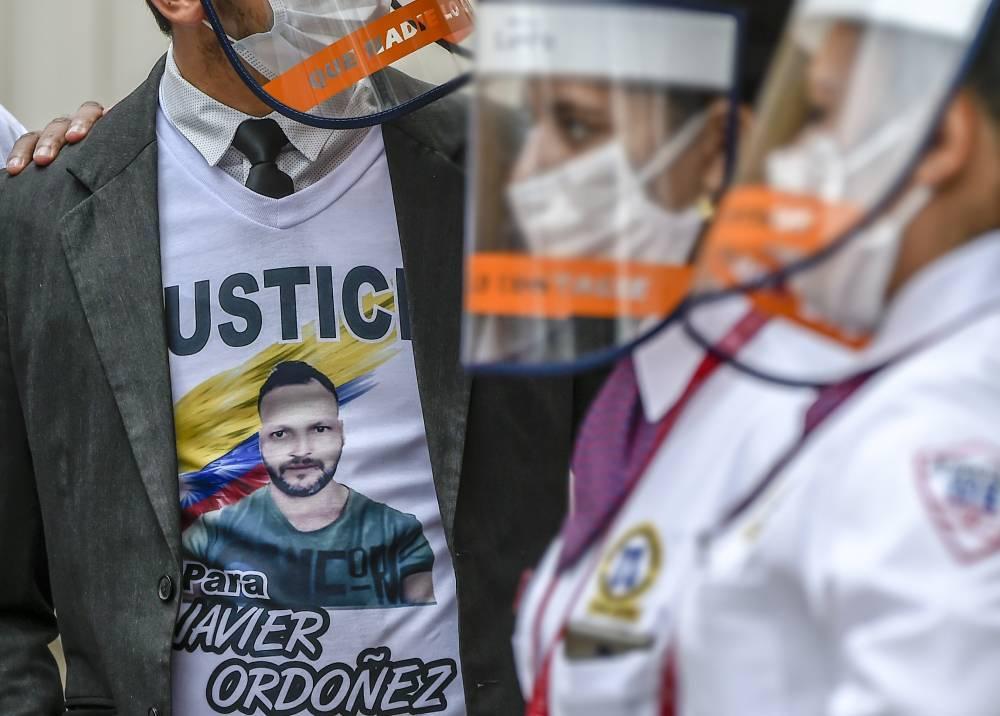 exequias javier  ordoñez -AFP.jpeg