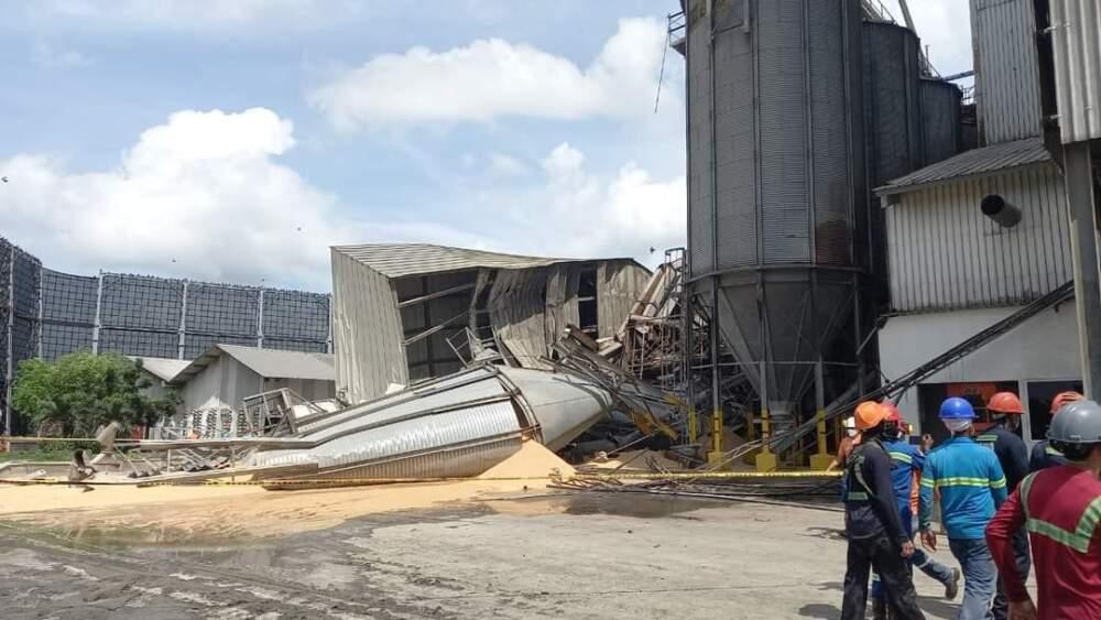 Caída silo