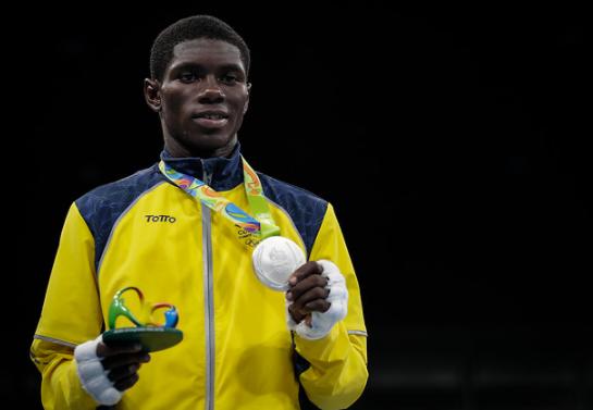 Yuberjen Martínez representará a Colombia en los Juegos Olímpicos de Tokio 2020.