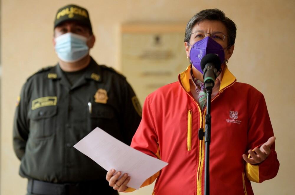 Alcaldesa Claudia López, comando especial contra estructuras criminales  migrantes