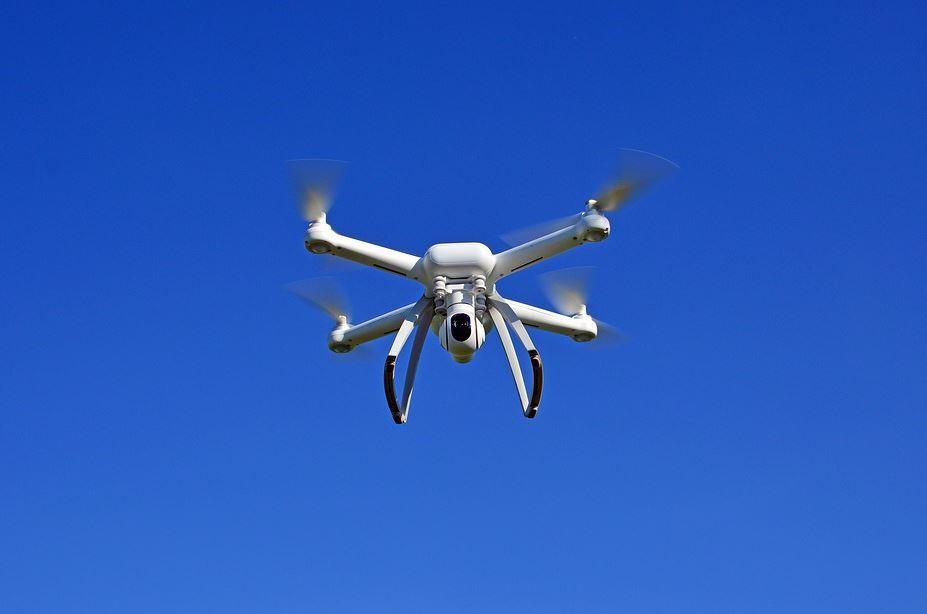 dron cargado con metanfetamina se estrelló en frontera de México y Estados Unidos