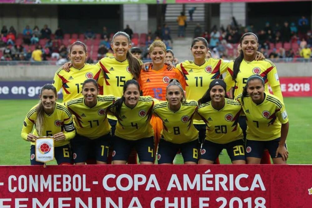 303970_Blu Radio. Selección Colombia Femenina / Foto: Twitter @FCFSeleccionCol