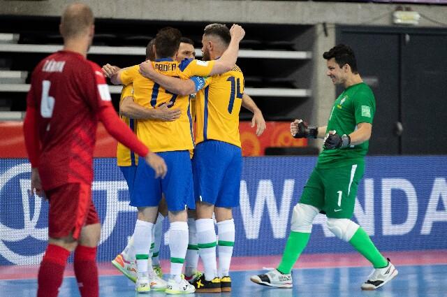 Selección de Brasil, en la Copa Mundial de Fútbol Sala de la FIFA