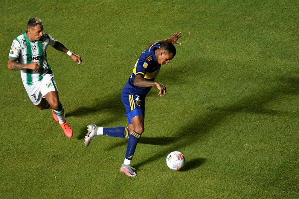 Sebastián Villa, jugador de Boca Juniors. AFP.png
