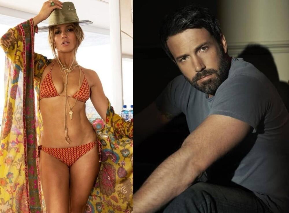 Jennifer López y Ben Affleck recrean icónica foto.