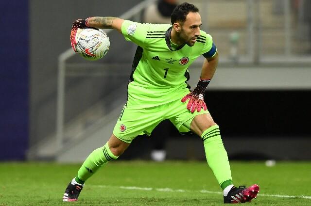 David Ospina, en Selección Colombia