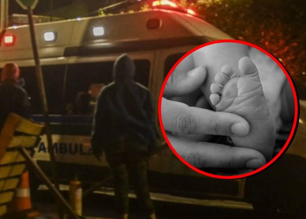 Bebé intubada en ambulancia murió en bloqueo.jpeg