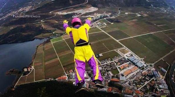 Paracaidista Dimitri Didenko muere en accidente en el aire