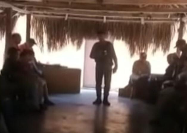 Disidencias de 'Gentil Duarte' arengan a campesinos en Venezuela