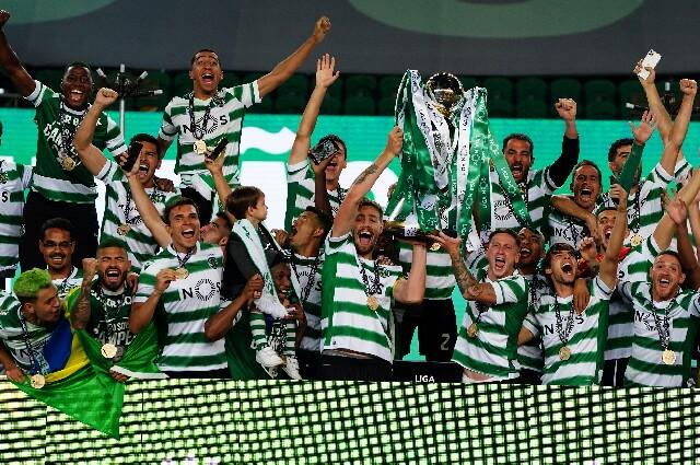 Sporting Lisboa, campeón