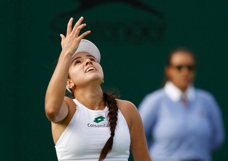María Camila Osorio jugará la tercera ronda de Wimbledon.