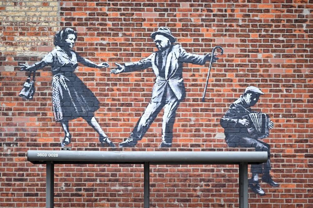 BRITAIN-ART-BANKSY
