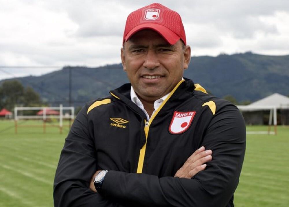 340830_BLU Radio. Hárold Rivera, técnico de Santa Fe / Foto: Independiente Santa Fe