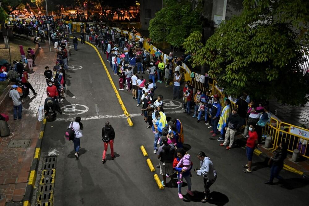 MIGRANTES-VENEZUELA-VENEZOLANOS-AFP