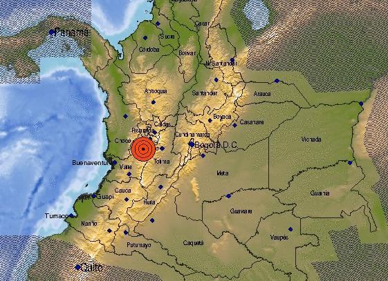 Temblor en el centro del país