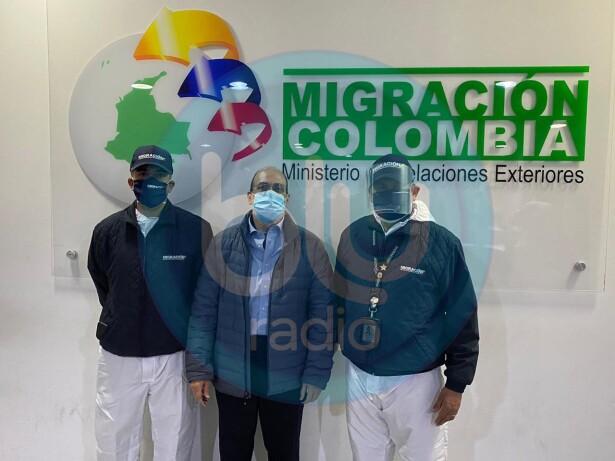 'Jorge 40' tras su llegada a Colombia.jpg