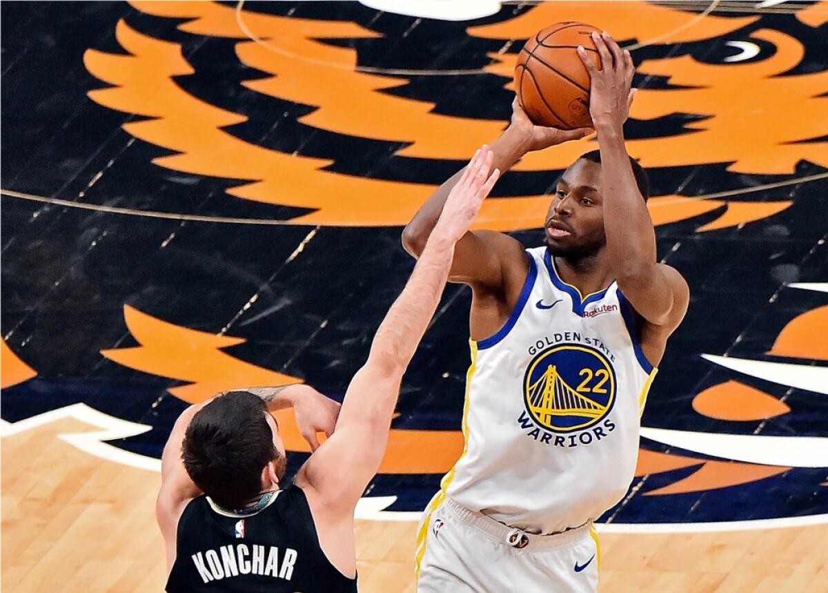 Pese a la ausencia de su estrella, Steph Curry, Warriors venció 116-103 a los Grizzlies en NBA