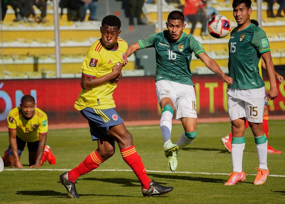 oscar murillo selección colombia bolivia foto afp.jpg