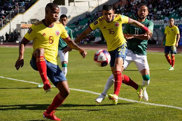 Bolivia recibió a Colombia, por la novena fecha de las Eliminatorias