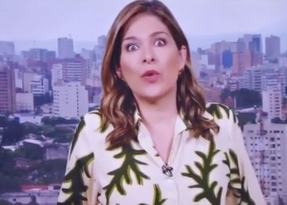 20213_Reacción de Ana Milena Gutiérrez / Foto: captura de video
