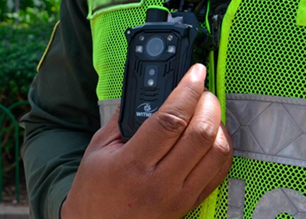 351552_Policía herido / Foto: Twitter Policía de Colombia