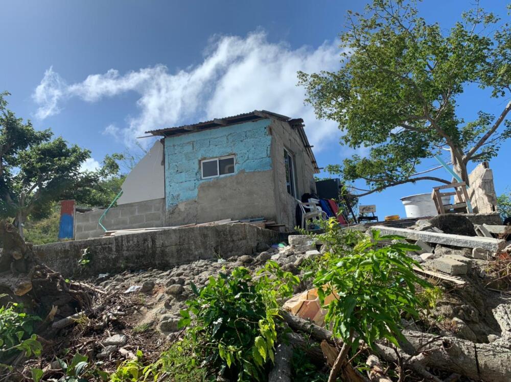 Destrucción en Providencia