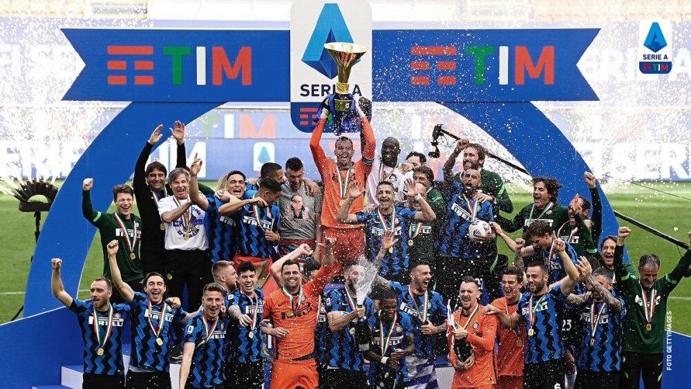 Campeones de la Serie A de Italia